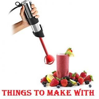 Things You Can Make With Your Immersion Blender